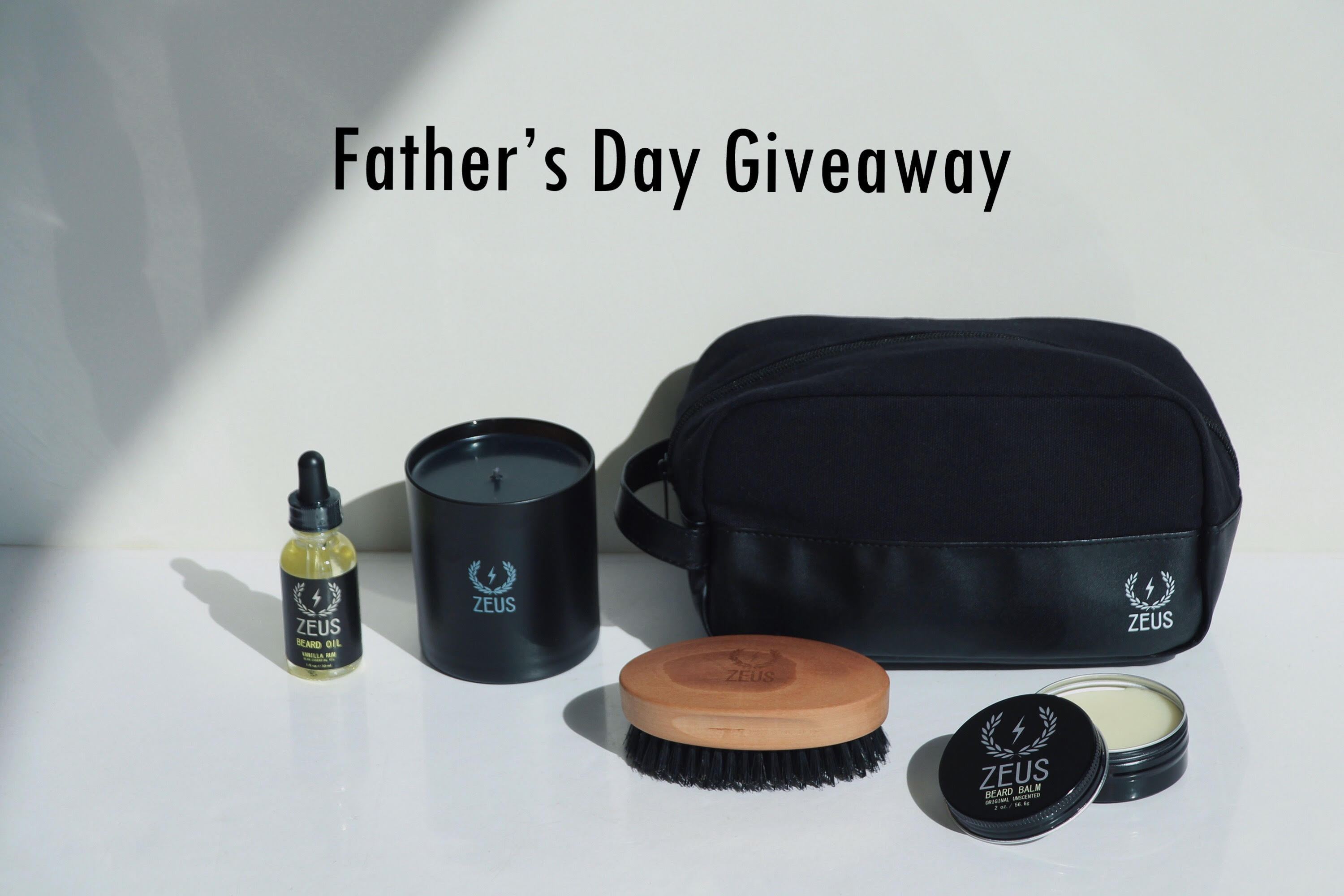 ENTER THE ZEUS FATHER'S DAY GIVEAWAY!