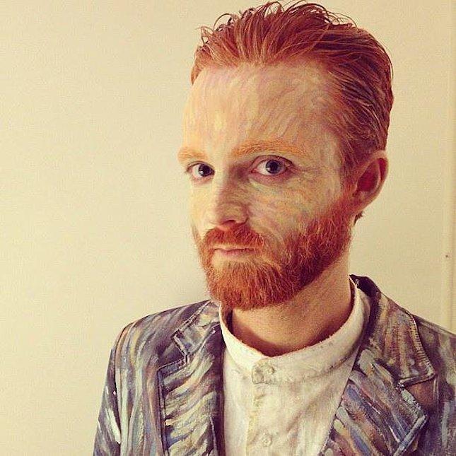 van gogh - Halloween Beard Costume Ideas