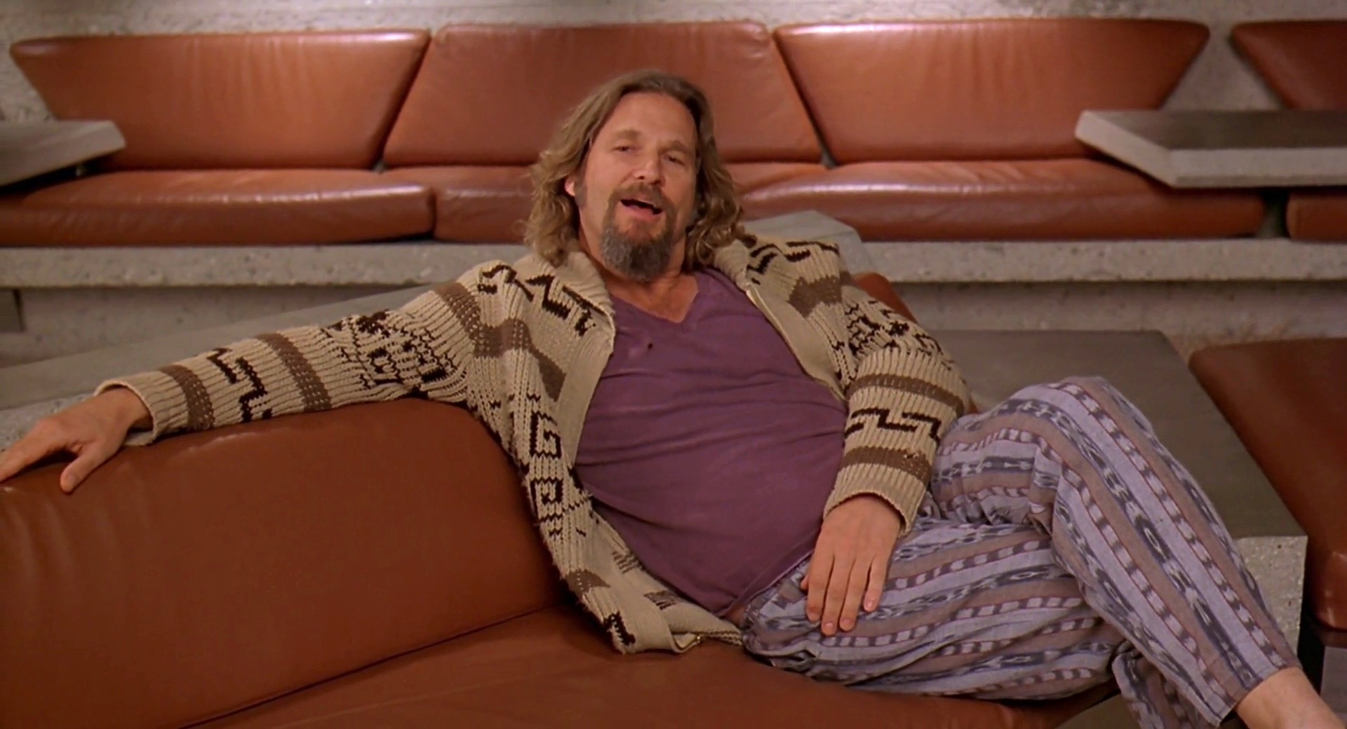 film the_big_lebowski 1998 the_dude jeff_bridges bottoms pj_pants - Good Halloween Costumes For Big Guys