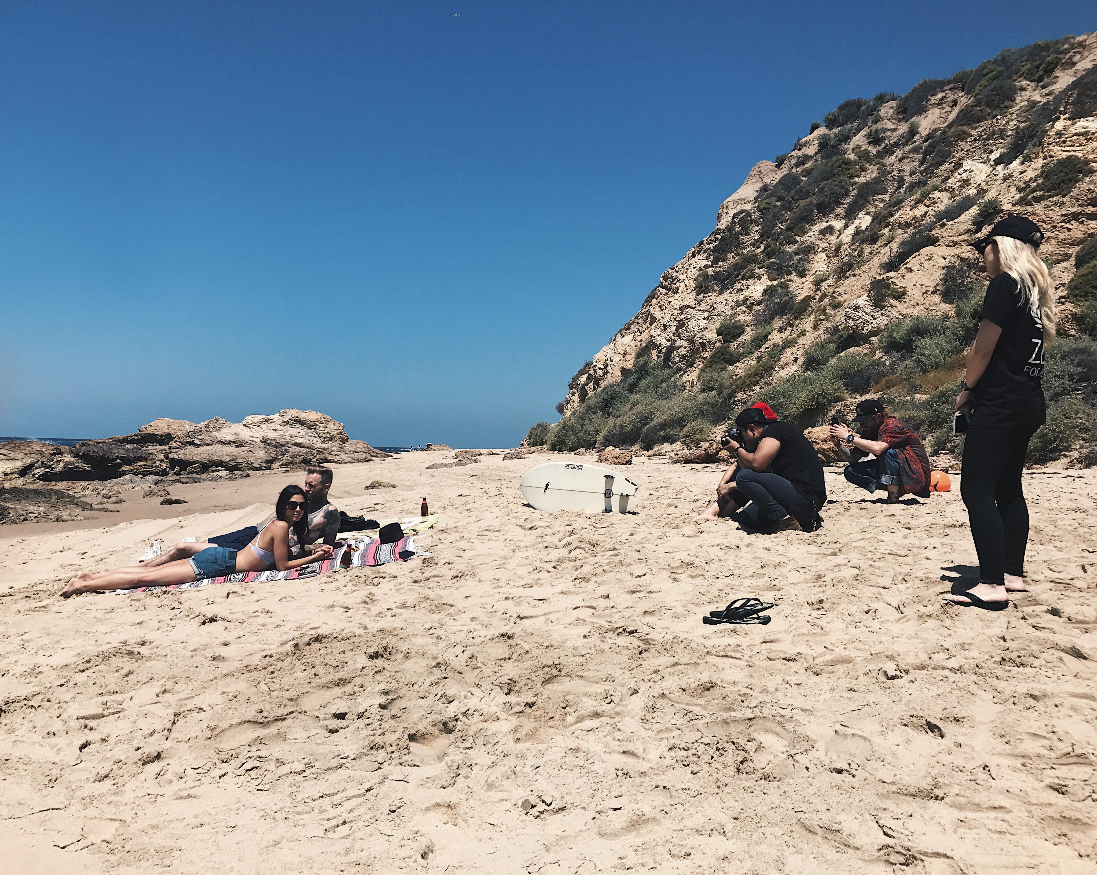 summer 2017 lookbook shoot